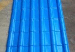 合成樹脂瓦天藍