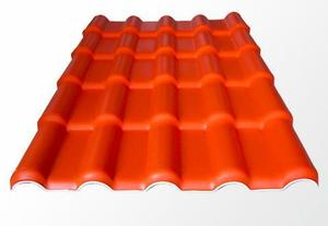 ASA合成樹脂瓦橙色