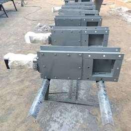 方口气动插板阀厂家-方口气动插板阀型号