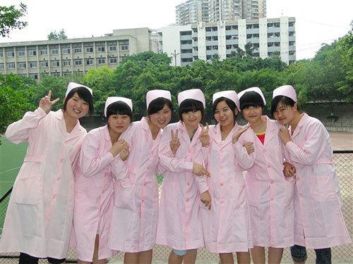 护士节留影