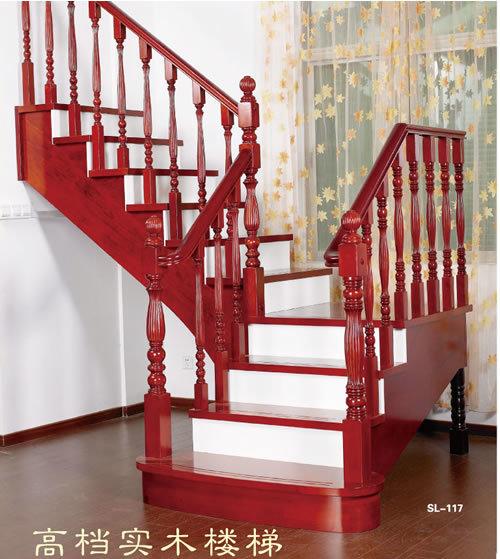 实木楼梯001
