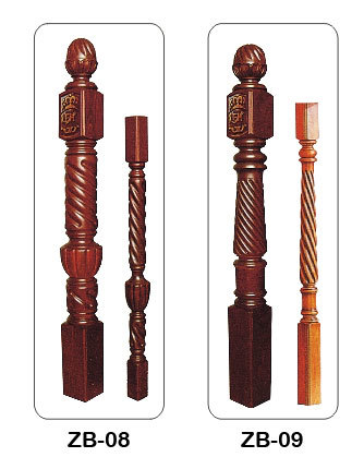 红橡木实木楼梯扶手
