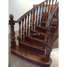富豪楼梯榉木楼梯扶手