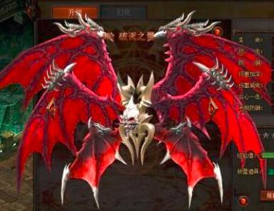 在热血传奇手游版官网站里角色的翅膀注灵这个操作有什么提升