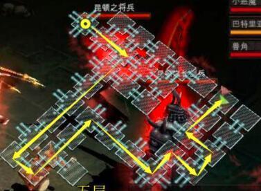 玩家在传奇手游版中玩迷宫系统的一些攻略分享