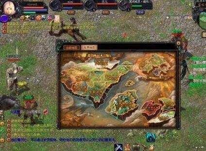 在熱血傳奇手遊電腦版中每一張地圖就值得玩家去發現