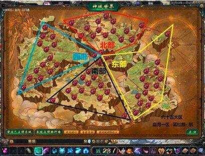 传奇手游版里的地图选择也是很重要的一点