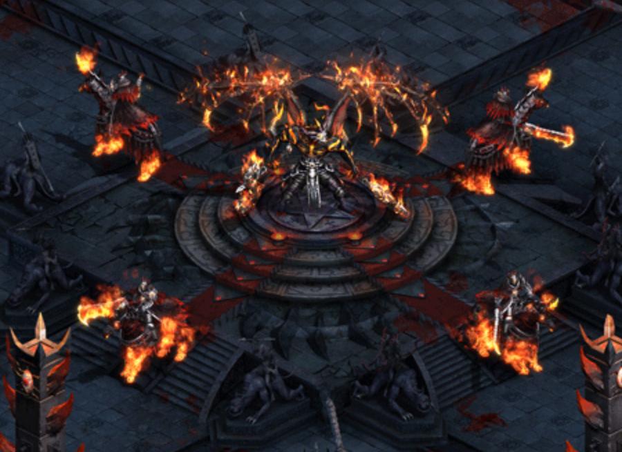 玩家在传奇手游版里如何面对大boss的反击