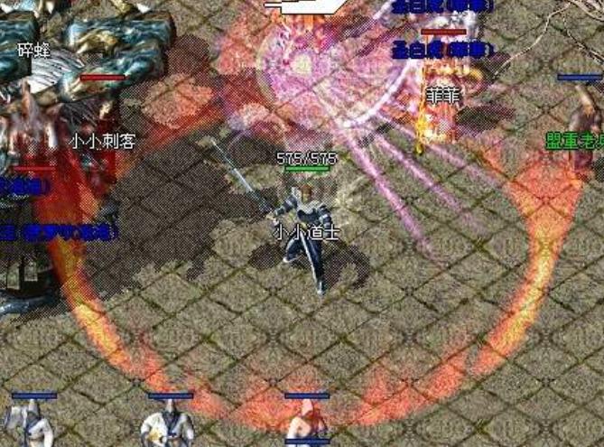 热血传奇手游版官网站中战士的主要技能是哪些呢?