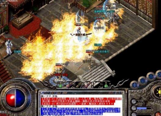玩家能够根据热血传奇手游寻找各种各样游戏服
