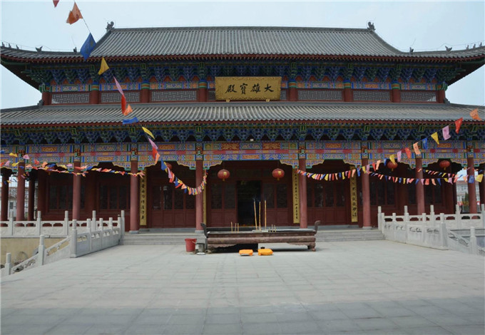 寺庙万佛墙