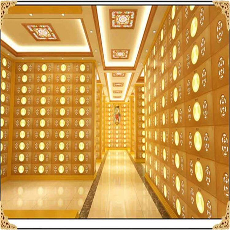 白银安息堂万佛墙规格及价格是多少