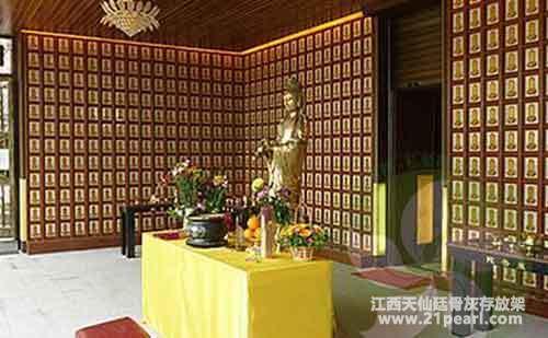 寺庙骨灰寄存及牌位摆放的问题