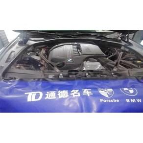 2010款宝马535冷却液故障灯报警维修案例