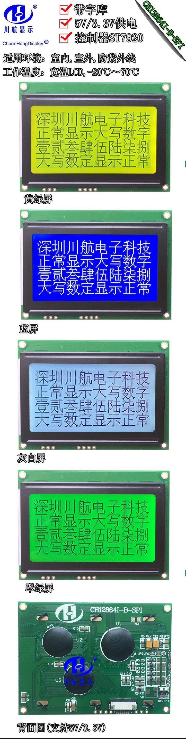 CH12864I-B-PCB-描述