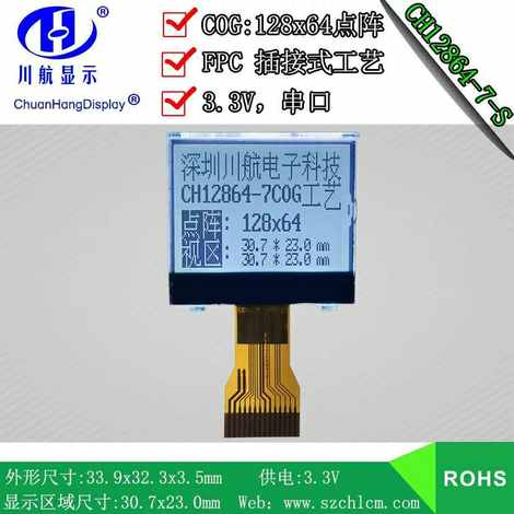 CH12864-7-S插接式