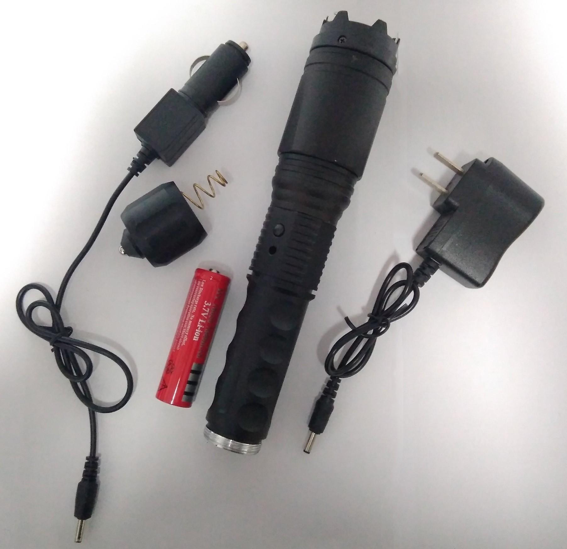 高压防身电棒如何充电?