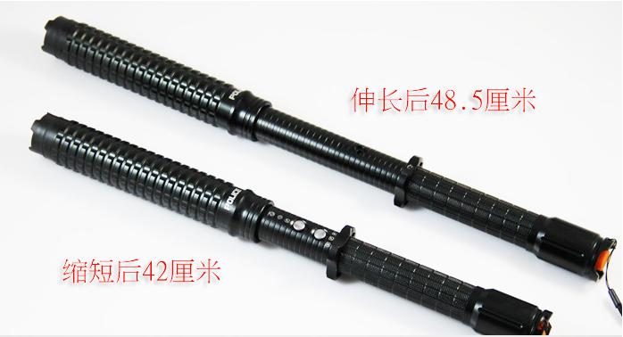 黑鹰HY-X10型带伸缩功能超高压电棍