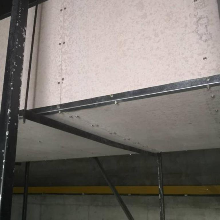 包覆板硅酸盐防火板