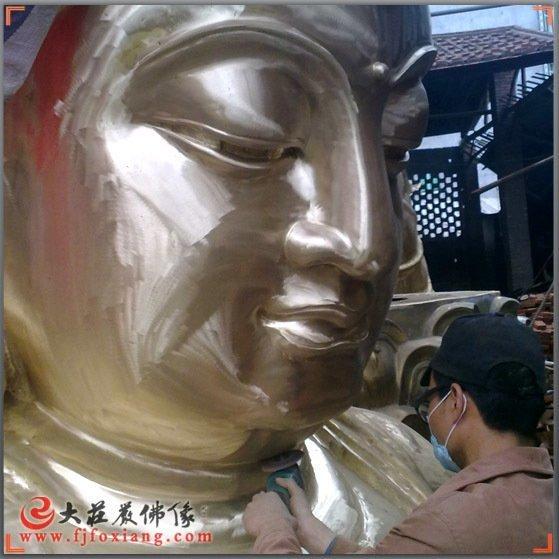 释迦佛铜佛像