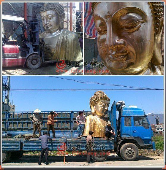 目前铜雕佛像如此火是什么缘故?铜雕佛像的四大优点