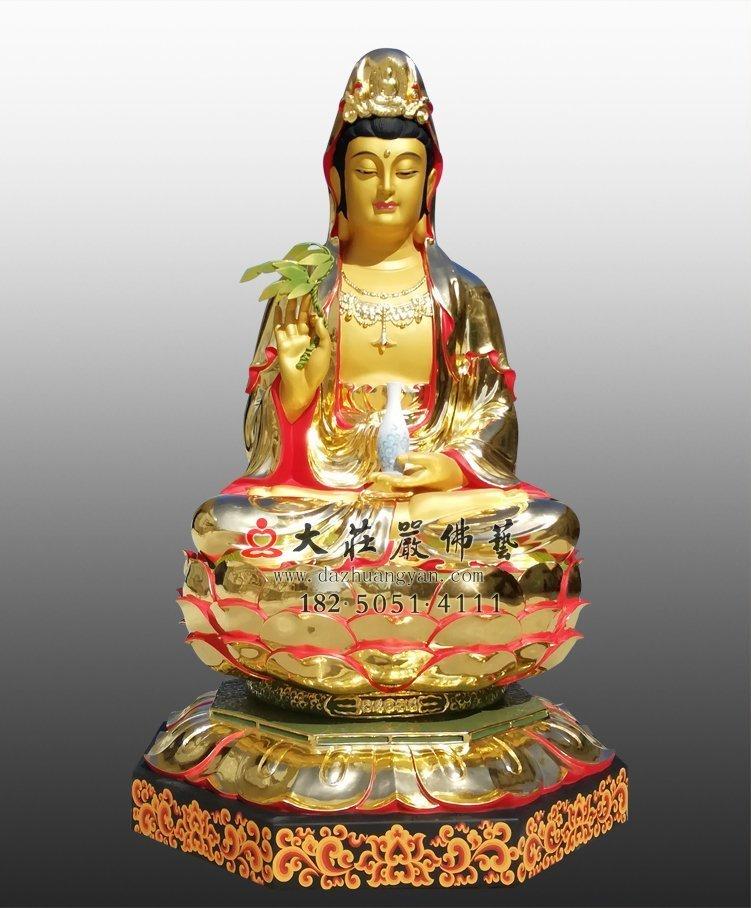 如何在家中敬奉观音菩萨铜像?这对家庭有什么好处?