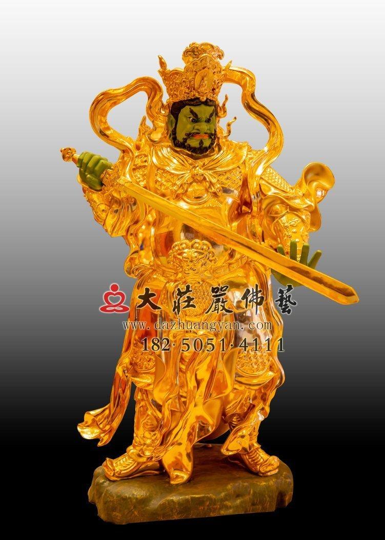 铜雕四大天王佛像价格是多少?怎么请铜雕四大天王佛像?