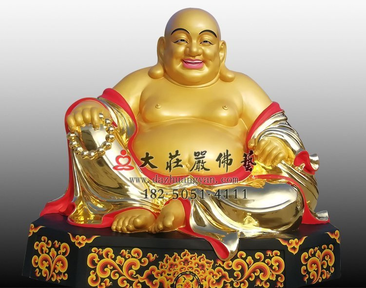 弥勒佛铜佛像