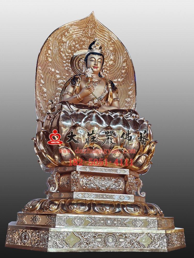 月光菩萨铜佛像价格多少?选购一尊月光菩萨铜佛像要多少钱?