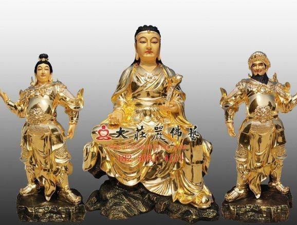 佛教伽蓝菩萨早期的三位代表
