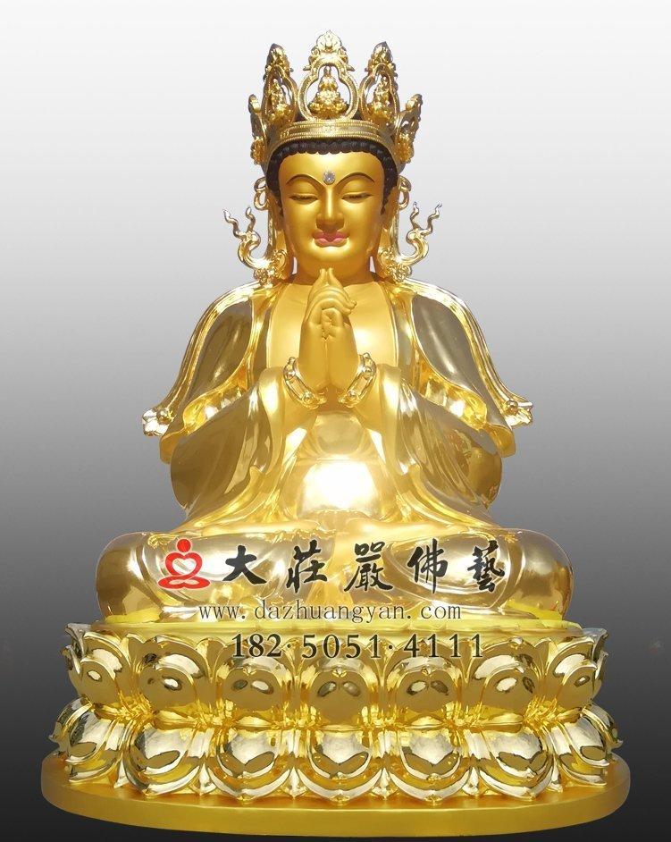 毗卢遮那佛铜佛像
