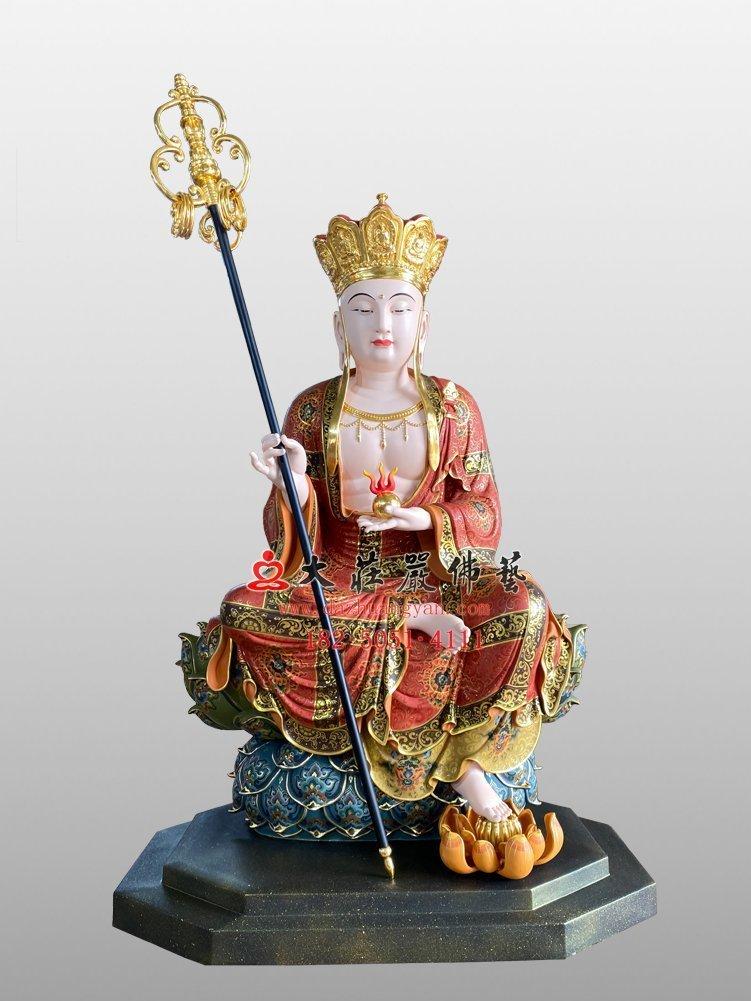 地藏菩萨铜佛像
