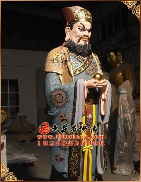 闵公铜佛像