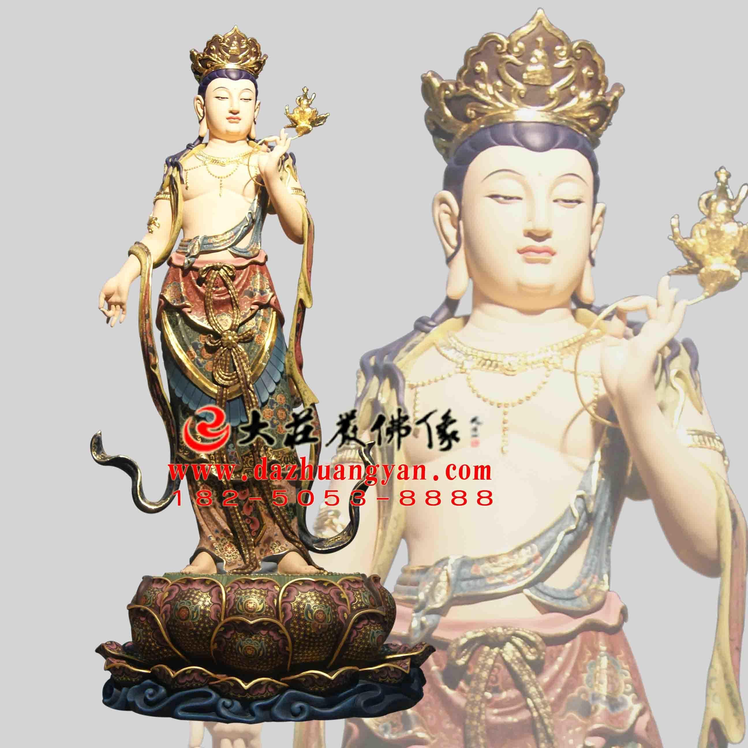 铜雕八大菩萨之弥勒菩萨