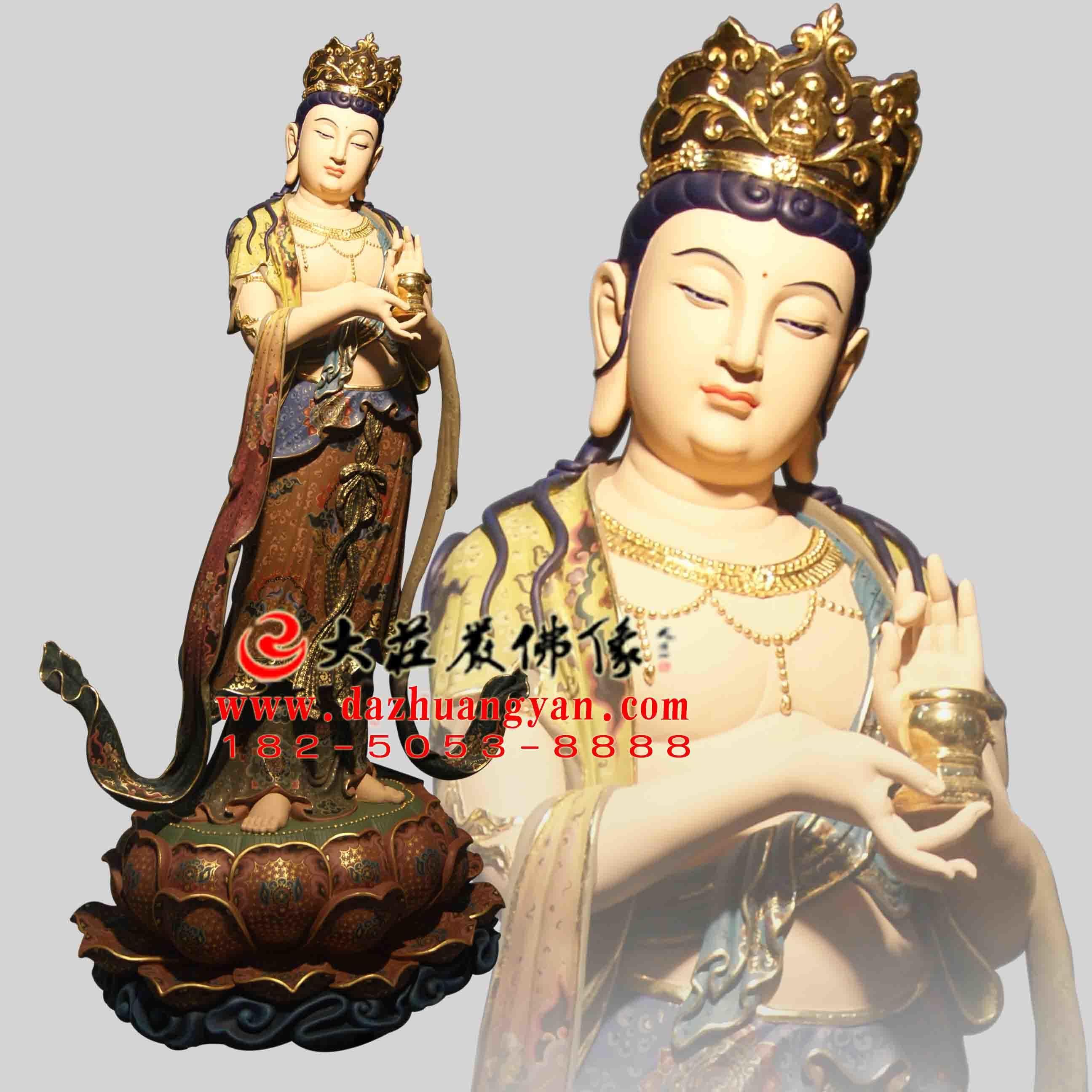 铜雕八大菩萨之地藏菩萨