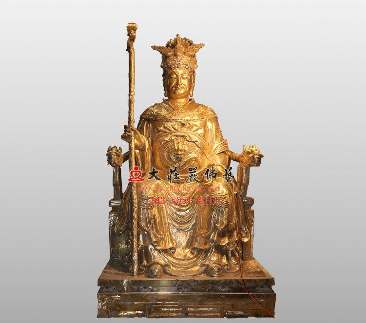 龙母 龙母铜像 道教神像