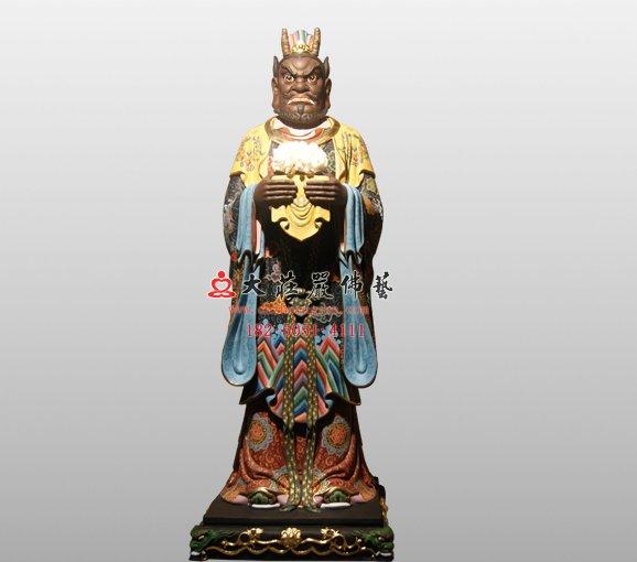 西海龙王敖闰 四海龙王神像 龙王铜像