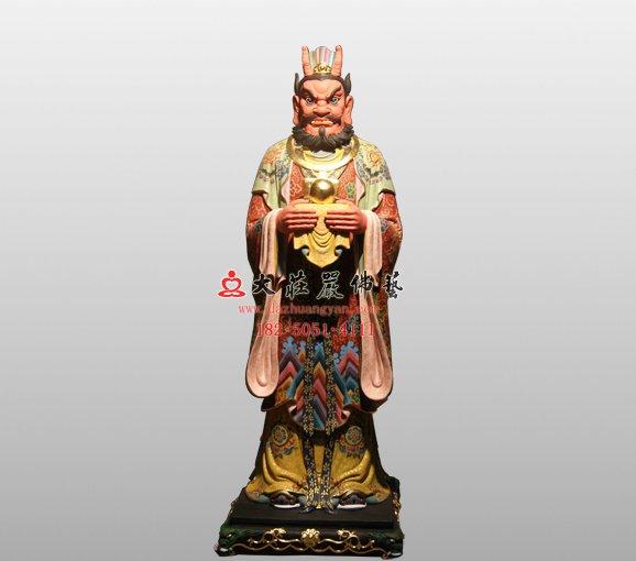 南海龙王 四海龙王铜像 道教神像