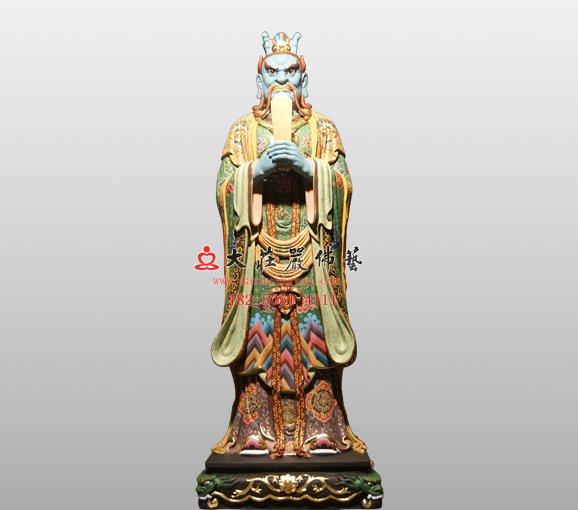 东海龙王敖广 四海龙王铜雕神像