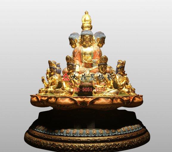 药师坛城 药师佛铜佛像