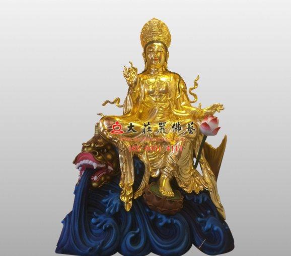观世音菩萨 西方三圣 观音铜佛像