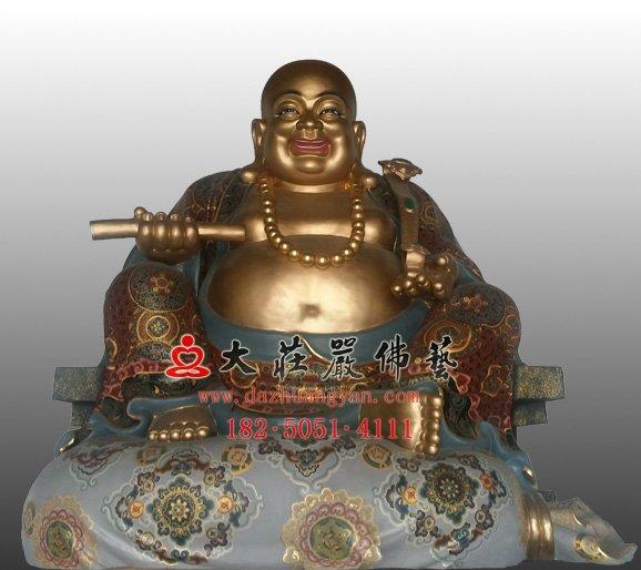 弥勒佛 未来佛 八大菩萨弥勒菩萨 弥勒佛铜佛像定制