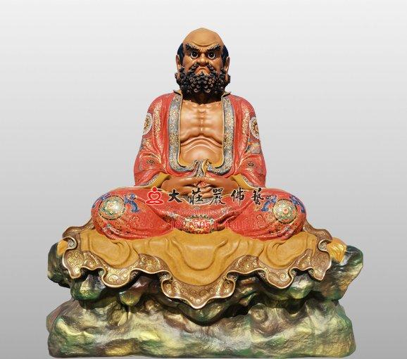 禅宗二十八祖达摩祖师铜佛像 菩提达摩铜佛像定制