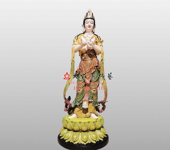 文殊菩萨之胁待铜佛像