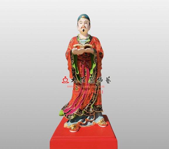 开闽王弟子铜雕神像 铜雕道教神像定制