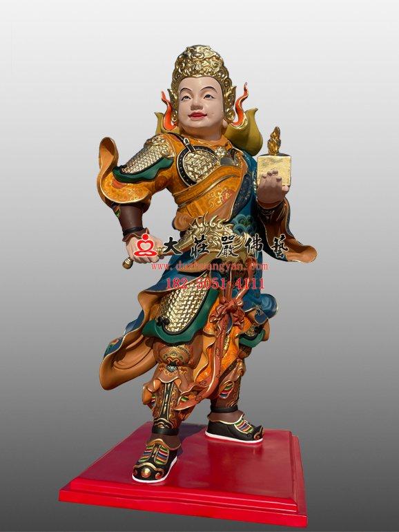 龙五爷侍者铜像 龙五爷侍者雕塑定制