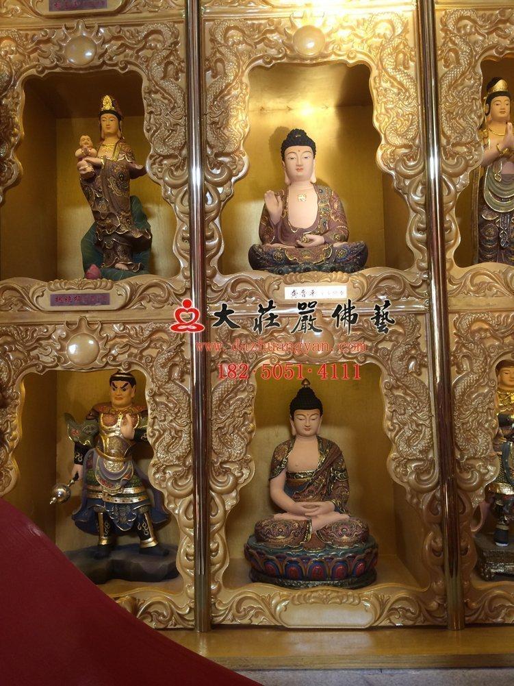太原龙泉寺千佛雕塑