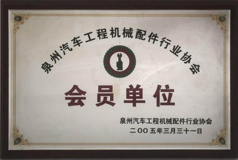 Quanzhou automobile construction machinery parts industry association