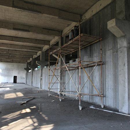 高楼层轻质隔墙工程