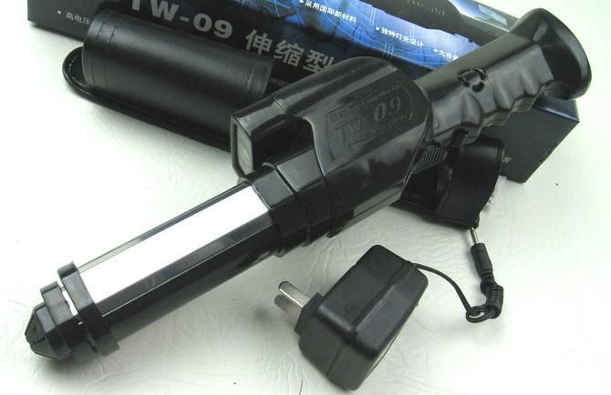 高电压TW-09伸缩型防暴电击棒